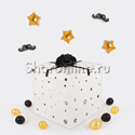 Фото №1: Коробка-сюрприз с оскорбительными шарами для него