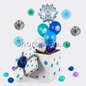 """Фото №1: Коробка-сюрприз """"Снежинки"""""""