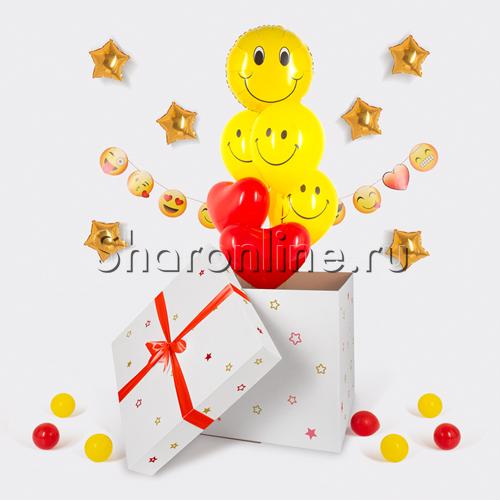 """Фото №3: Коробка-сюрприз """"Веселый смайлик"""""""
