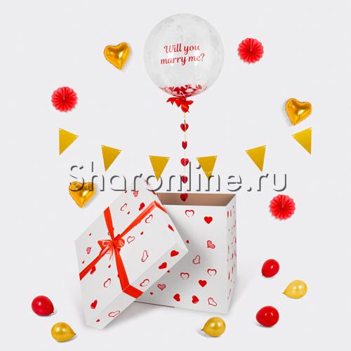 "Фото №4: Коробка-сюрприз ""Will you marry me?"""