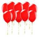 Фото №1: Красные шары