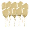 Фото №1: Кремовые матовые шары