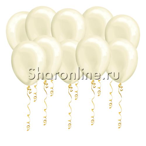 Фото №1: Кремовые шары металлик