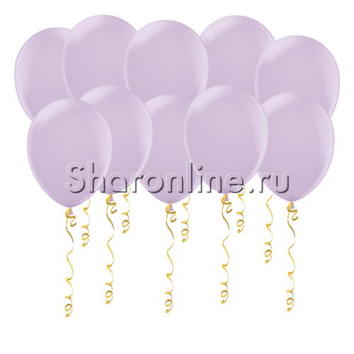 Фото №1: Лиловые матовые шары