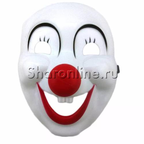 "Фото №1: Маска ""Клоун - красный нос"""