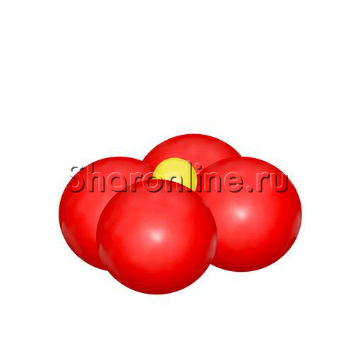 Фото №1: Мини-стойка из шаров