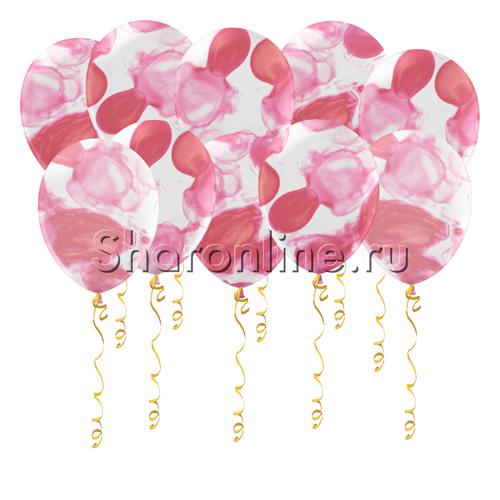Фото №1: Многоцветные розовые шары