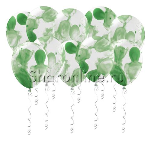Фото №1: Многоцветные зеленые шары