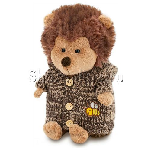 Фото №1: Мягкая игрушка Ежик в свитере 20 см