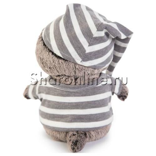 """Фото №2: Мягкая игрушка """"Кот Басик"""" в пижамке 20 см"""