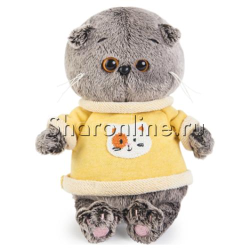Мягкая игрушка Кот Басик романтик 22 см, Budi Basa, цена: 1240 руб. | 500x500