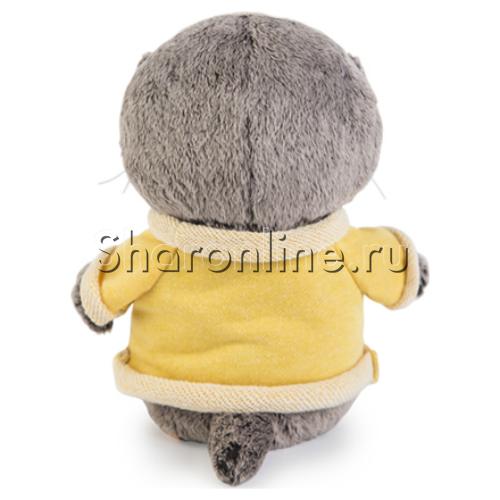 """Фото №2: Мягкая игрушка """"Кот Басик"""" в толстовке 20 см"""