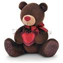 Фото №1: Мягкая игрушка Мишка Чоко с сердцем 15 см