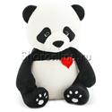 Фото №1: Мягкая игрушка Панда Бу с сердцем 20 см