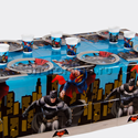 "Фото №1: Набор для сервировки ""Бэтмен против супермена"""