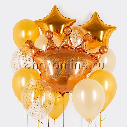 """Фото №1: Набор шаров """"Королевский"""""""