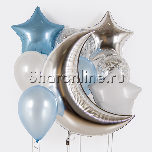 "Фото №1: Набор шаров ""Лунное мерцание"""