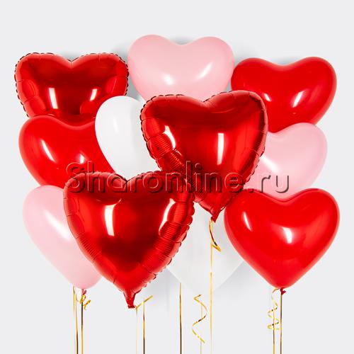 """Фото №1: Набор шаров """"Порыв любви"""""""