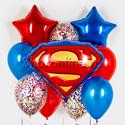 "Фото №1: Набор шаров ""Супермен"""