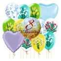 """Фото №1: Набор шаров """"Тюльпаны"""""""