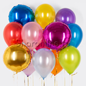 """Фото №1: Набор шаров """"Яркие круги"""""""