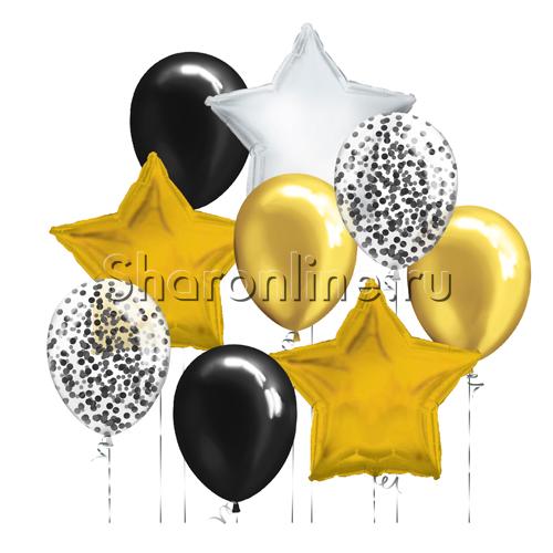 "Фото №1: Набор шаров ""Звездное мерцание"""