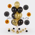 Фото №2: Набор фольгированных золотых дисков 6 шт