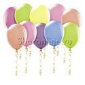 Фото №1: Неоновые шары ассорти