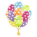 Фото №1: Облако шариков Ассорти в горошек