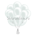 Фото №1: Облако белых шариков металлик