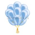 Фото №2: Облако голубых шариков металлик