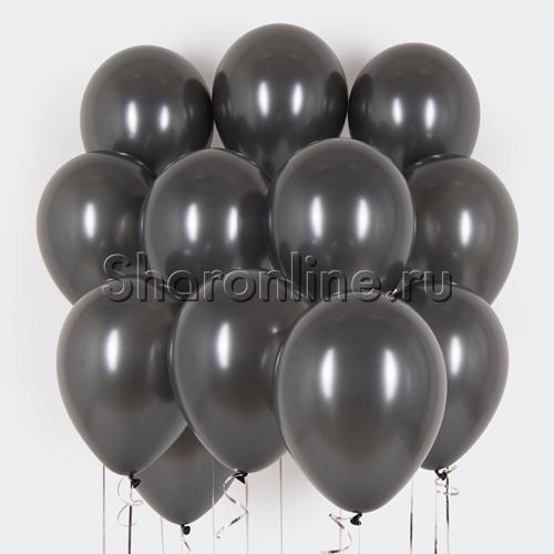 Фото №1: Облако графитовых шариков металлик
