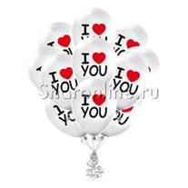 """Облако """"I Love You"""""""