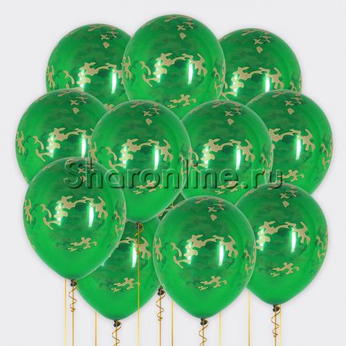 Фото №1: Облако камуфляжных шариков