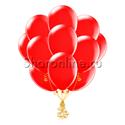 Фото №1: Облако красных шариков