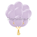 Фото №1: Облако лиловых шариков