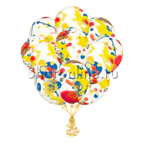 Фото №2: Облако многоцветных шаров