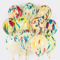 Фото №1: Облако многоцветных шаров
