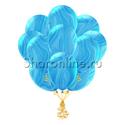 Фото №2: Облако мраморных сине-голубых шариков