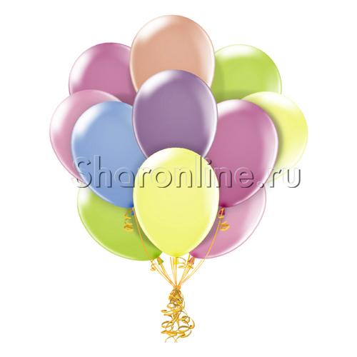 Фото №1: Облако неоновых шариков ассорти