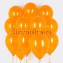 Фото №1: Облако оранжевых шариков металлик