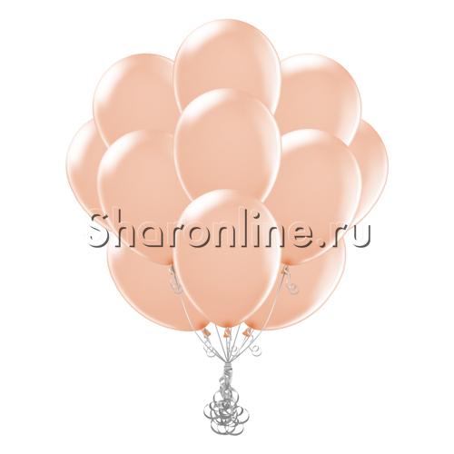 Фото №2: Облако персиковых шариков