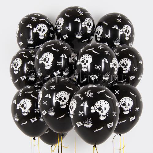 Фото №1: Облако пиратских шариков