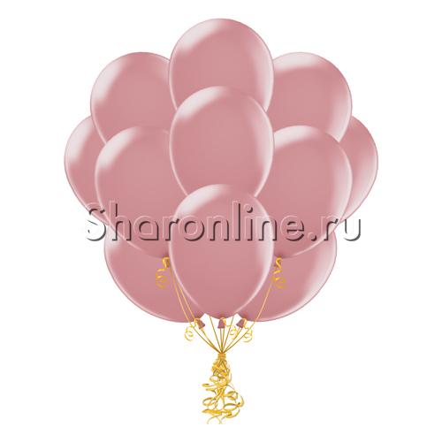 Фото №2: Облако пудрово-розовых шариков