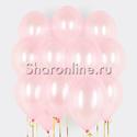 Фото №1: Облако розовых шариков металлик