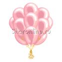 Фото №2: Облако розовых шариков металлик