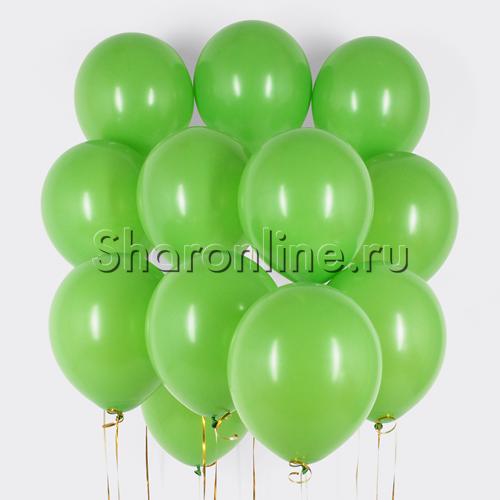 Фото №1: Облако салатовых шариков