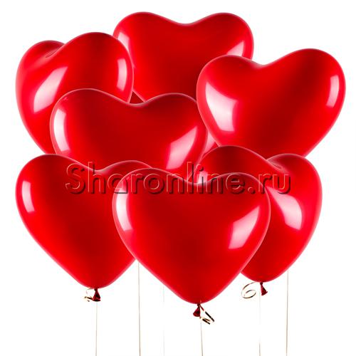 Фото №2: Облако сердечек Премиум 41 см