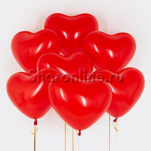 Фото №1: Облако сердечек Премиум 41 см