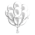 Фото №2: Облако серебряных шариков